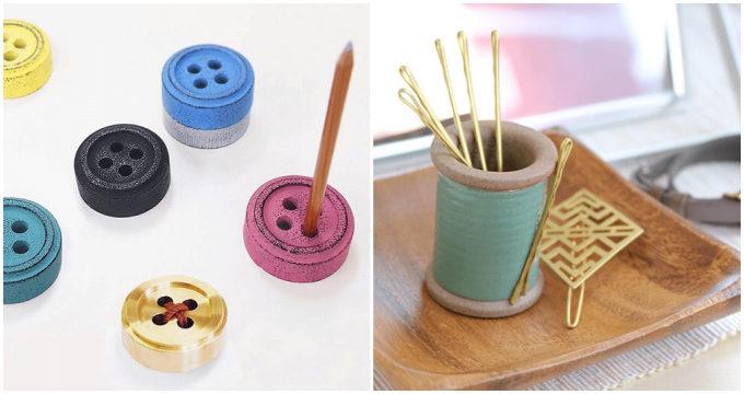 「Cohana(コハナ)」の手芸道具を思わせる収納アイテム