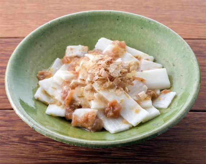 美容・健康によい成分が豊富な「長芋の梅おかか和え」レシピ
