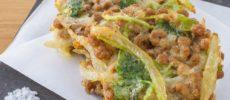 納豆のかき揚げのレシピ
