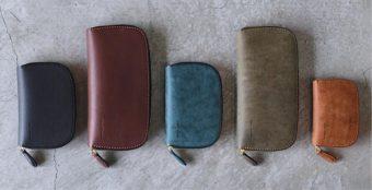 革の質感や色合いで印象もぐっと変わる。「ONES WORKER」が仕立てるこだわりの革財布