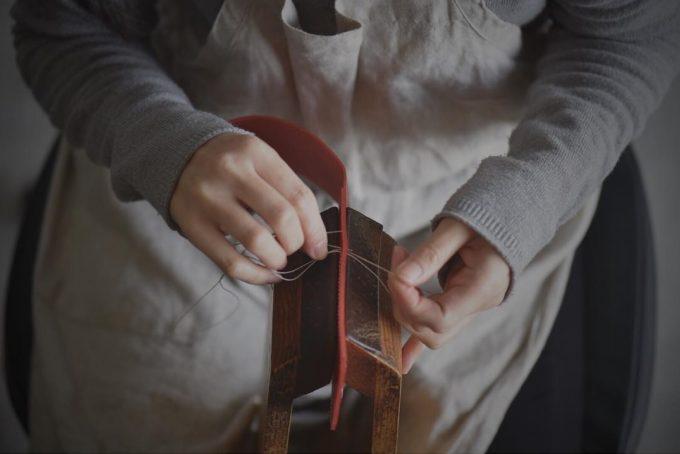 「ONES WORKER」の上質な革製品の製造過程