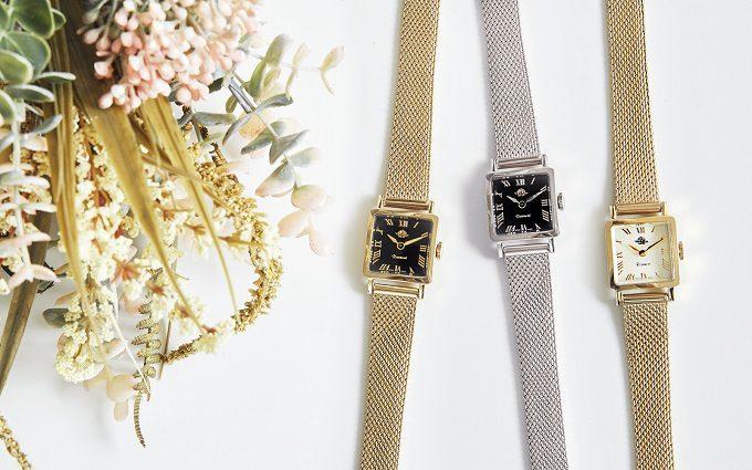 「Rosemont(ロゼモン)」のブラックの文字盤が印象的な新作腕時計 3種