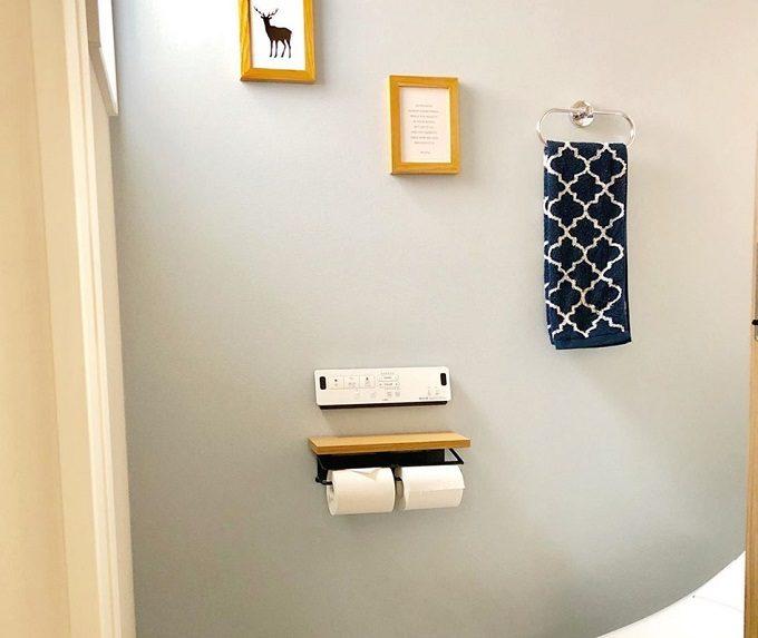 トイレをおしゃれにする、簡単DIYインテリア「北欧トイレットペーパーホルダー」