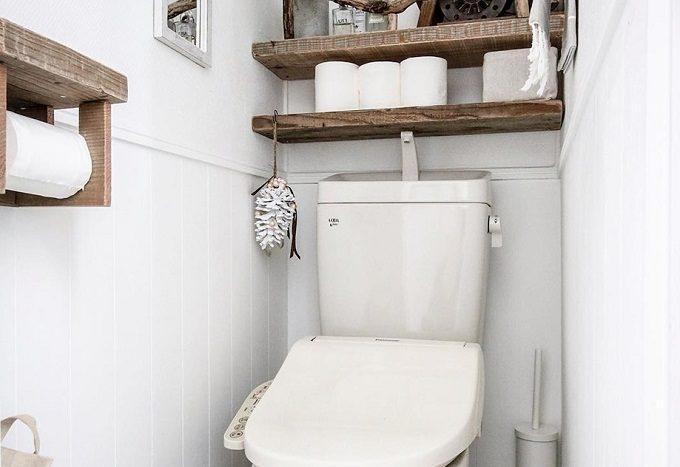 トイレをおしゃれにする、簡単DIYインテリア