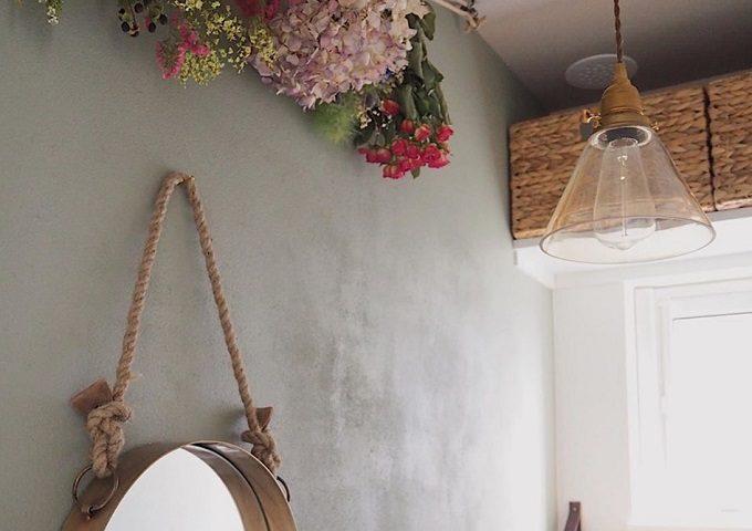 トイレをおしゃれにする、簡単DIYインテリア「照明」