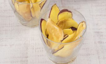 食物繊維たっぷりのさつまいもで作る。簡単おやつ「おさつチップス」のレシピ