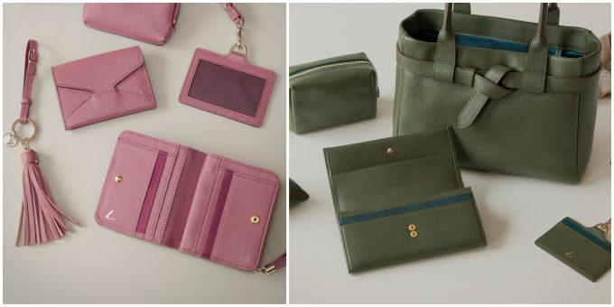 「土屋鞄製造所」の定番シリーズ「clarte(クラルテ)」の新作、バッグ・ポーチ・お財布