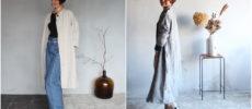秋におすすめの「tsu tsu mu(つつむ)」の羽織物アイテム