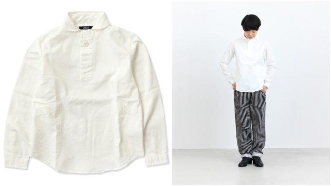 大人女子の冬におすすめの「LOLO ロロ」のシャツ