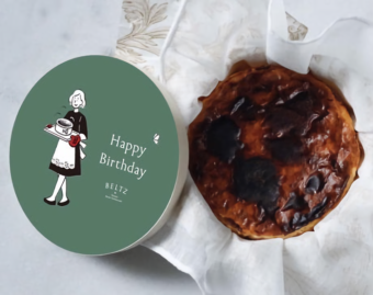 ふわとろ食感に恋する。可愛いパッケージも魅力の「BELTZ」のバスクチーズケーキ