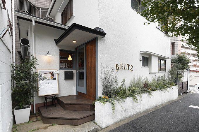 東京・広尾にあるバスクチーズケーキ専門店「BELTZ(ベルツ)」外観