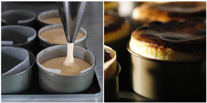 ギフトにおすすめの東京・広尾「「BELTZ(ベルツ)」のバスクチーズケーキ、製造工程