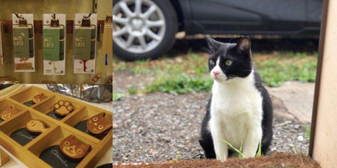 札幌の木工クラフト工房「チエモク」の猫モチーフの木の小物