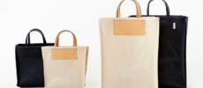 アーバンリサーチから発売された、「ITTI × commpost」の廃棄衣料を使った新素材のトートバッグ1