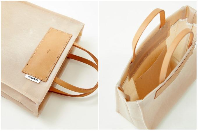 アーバンリサーチから発売された、「ITTI × commpost」の廃棄衣料を使った新素材のトートバッグ2