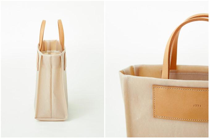アーバンリサーチから発売された、「ITTI × commpost」の廃棄衣料を使った新素材のトートバッグ3