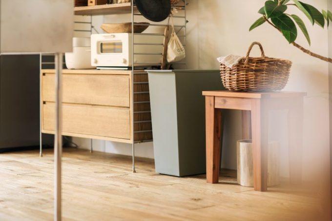 キッチンにおすすめのゴミ箱、ReCENOのダストボックスkcud