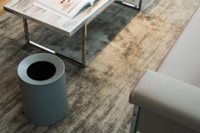 リビングにおすすめのおしゃれなゴミ箱、IDEACOのTUBELOR HOMME