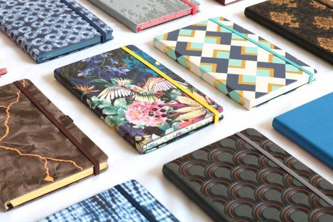 イタリア発のノートブランド「カステリミラノ」のさまざまなデザインのノート