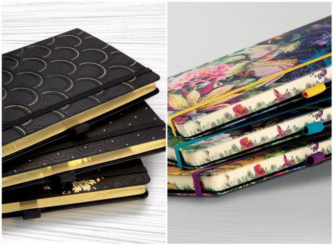 イタリア発のノートブランド「カステリミラノ」のコッパー&ゴールドとエデン
