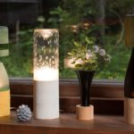 空き瓶がおしゃれな照明に変身。「kico-kico.works」のム...