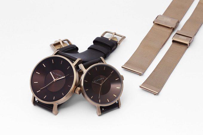 秋冬におすすめ「KLASSE14」の腕時計、「VOLARE」シリーズ