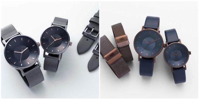 秋冬におすすめ「KLASSE14」の腕時計、「VOLARE」シリーズの2色