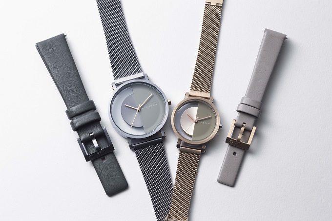 秋冬におすすめ「KLASSE14」の腕時計、「IMPERFECT」シリーズ