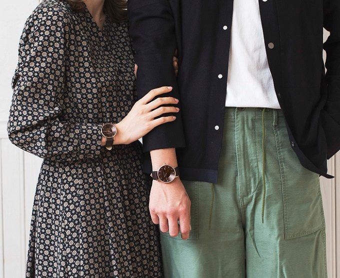 秋冬におすすめ「KLASSE14」の腕時計、装着例3