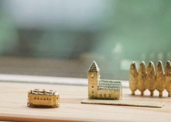 大切な記念日にひとつずつ集めたい。手作りの温もり感じる「穀雨」の真鍮製オブジェ