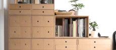 組み合わせ自由自在。あなた好みの棚が簡単に作れる「margherita」の収納ボックス