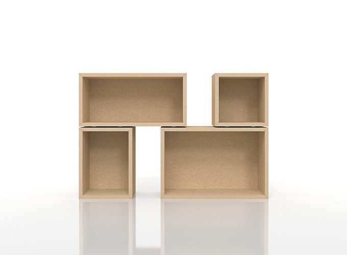 「margherita」の収納ボックス「BLC」の組み合わせ例1