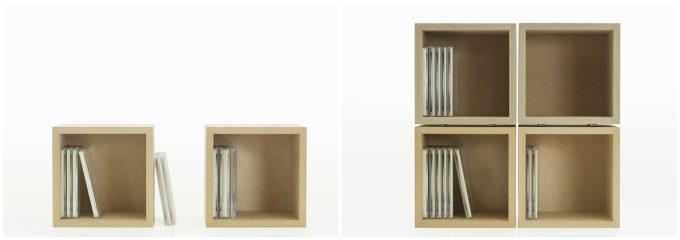 「margherita」の収納ボックス「BLC」の組み合わせ例2