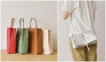 革の経年変化も楽しんで。紙のように折り畳める「丸ヨ片野製鞄所」の4WAYバッグ