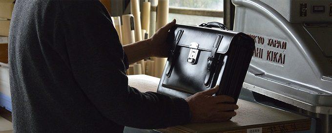「丸ヨ片野製鞄所」のカバン