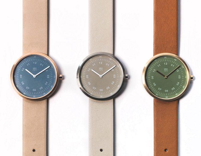 「MAVEN WATCHES(マベンウォッチズ)」のさまざまなカラーの腕時計