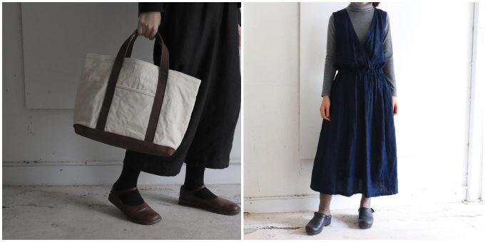 カジュアルすぎず大人っぽい「pas de deux(パドドゥ)」のバッグや服