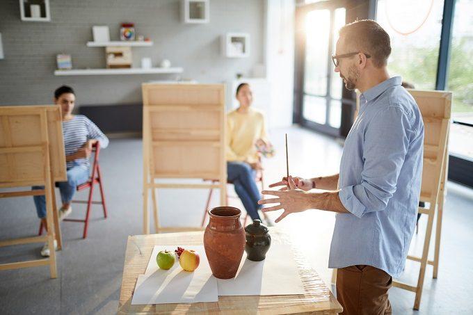 絵画教室のイメージ写真