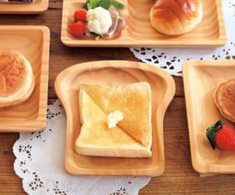朝ごはんが楽しくなる。SPICE OF LIFE 「PAN MAISON」の食パン型ウッドトレイ