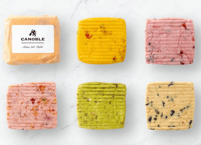 「CANOBLE(カノーブル)」の食べるバター6種類