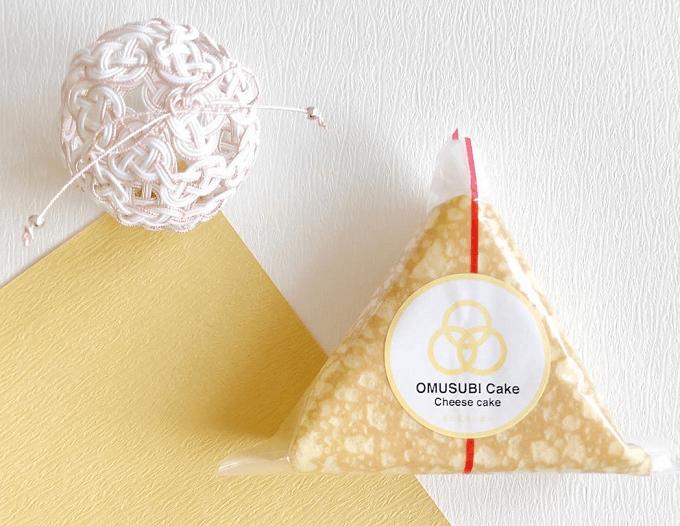 「OMUSUBI Cake」のチーズケーキ