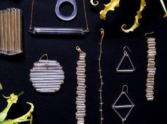繊細な輝きに目を奪われる。丁寧な手作業で生み出される「DayDream」のガラスピアス