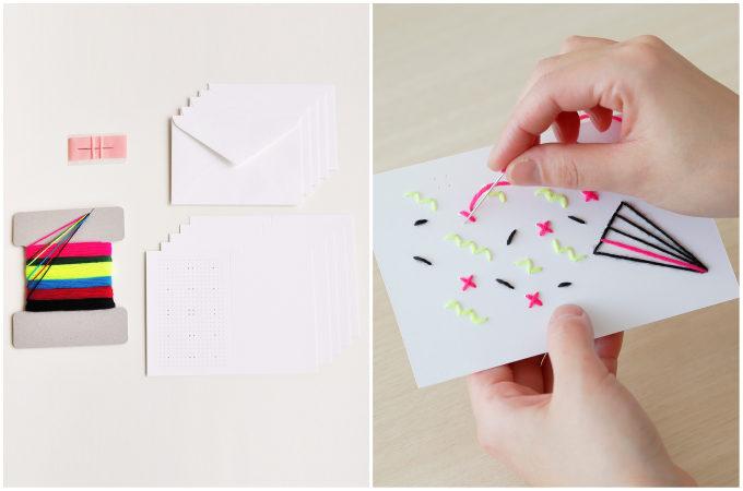 カードのキットと作り方の写真
