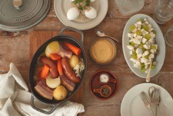 自慢のひと皿+簡単2皿がちょうどいい。一品豪華主義コースで心を込めたおもてなし