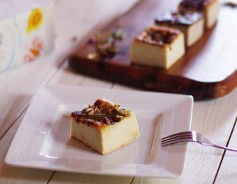 白砂糖や小麦粉不使用。新潟米や果物の深い味わいが楽しめる「麹チーズケーキ」
