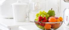 フルーツのあるキッチンの写真