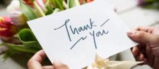感謝の気持ちを花言葉に。プレゼントにおすすめの花<10選>