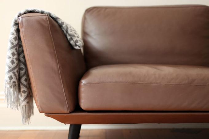 合皮製ソファのイメージ写真