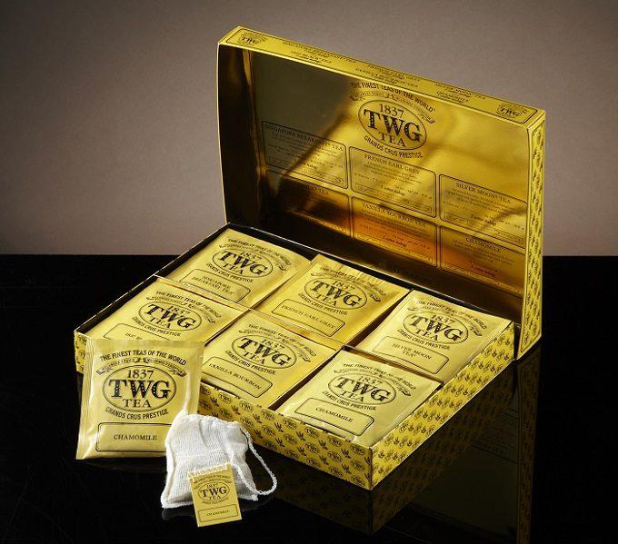 TWG Teaのギフトボックスの写真