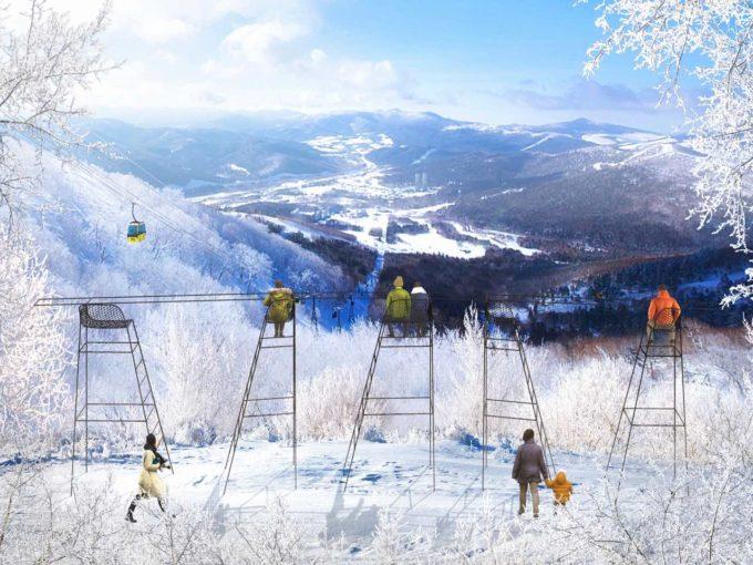 まさに絶景!冬季限定・霧氷テラスで感動の旅を